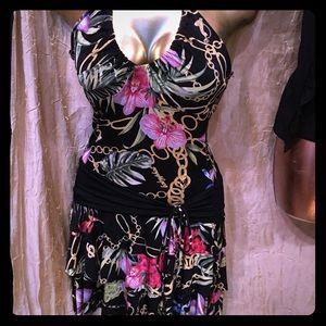 9d285ea853 Babyphat floral mini dress size small